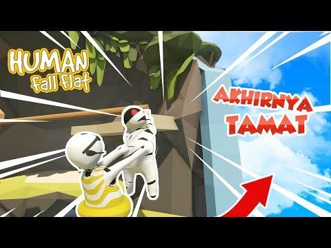 DUO LETOY TAMAT - HUMAN FALL FLAT #TAMAT