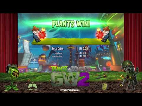 Leap Day Plants Vs Zombies: GW2: GE (I still suck but not live)