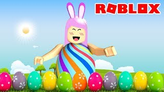 ROBLOX-I TURNED AN EASTER EGG (egg Hunt)