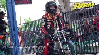 Salah Kontrol Kopling Galih Dwi Jumping Pakai Ninja SDI BOTER