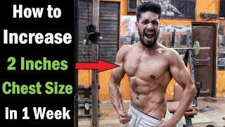 How to Get a Bigger Chest | Workout & Tips
