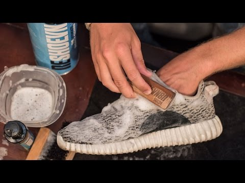How to deep clean Yeezy Boost 350 (Turtle Doves)