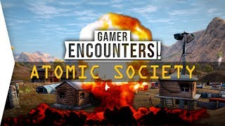 Atomic Society ► Fallout City-builder!? New City-building Gameplay - [Gamer Encounters]