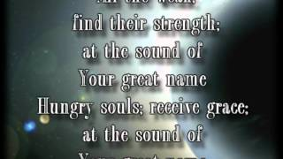 Your Great Name  Natalie Grant worship video with lyrics