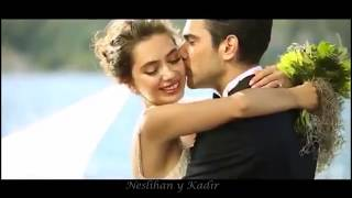 Entre Dos Amores♥Neslihan Atagul y Kadir Dogolu. Video del Primer Aniversario de Bodas.