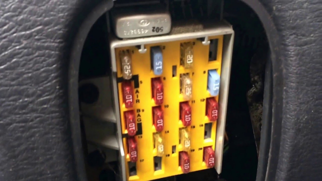 Fuse Box Chrysler Town Country 2006 Auto Electrical Wiring Diagram 2003 Pt Cruiser Location