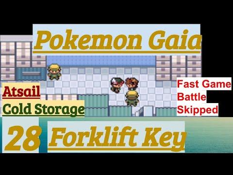 Pokemon Gaia Part 28 Forklift Key! PokeFan In Atsail Cold Storage