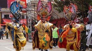Diablada Tradicional y Autentica Oruro 2014 - BANDA REAL POOPO DE ORURO