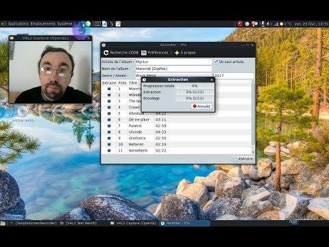 Comment importer sans prise de tête un CD audio sous Linux...