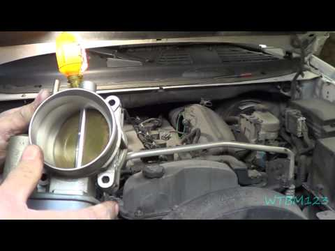 Trailblazer, Clean Throttle Body, Electronic Throttle Control, Codes P0506  P2119