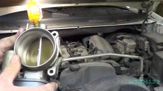 Trailblazer, Clean Throttle Body, Electronic Throttle Control, Codes P0506  P2119