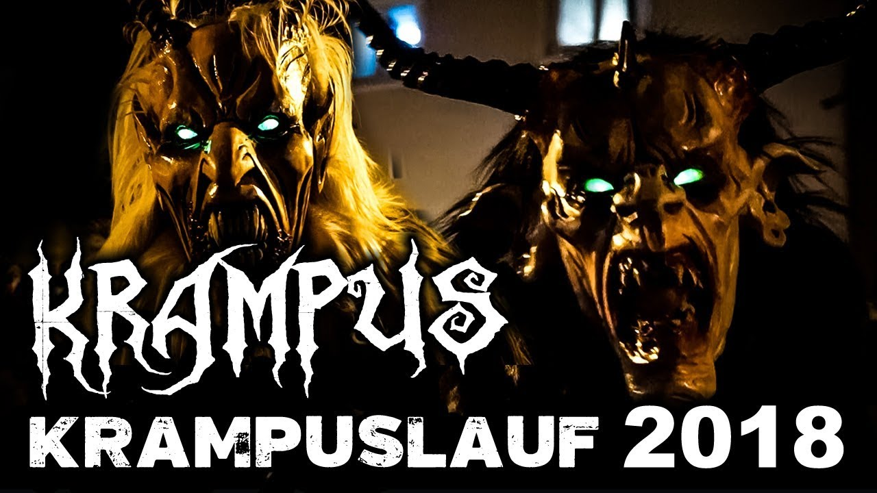 Legend Of Krampus Krampuslauf 2018 Salzburg Austria Youtube