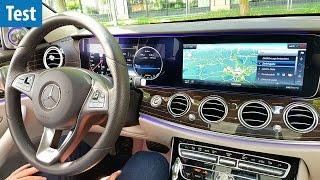Riesiges Doppel-Display - Mercedes E-Klasse im Test | deutsch / german