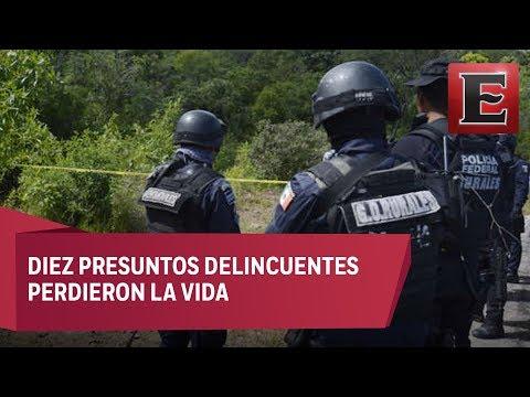 Enfrentamientos armados en Guerrero dejan 16 muertos