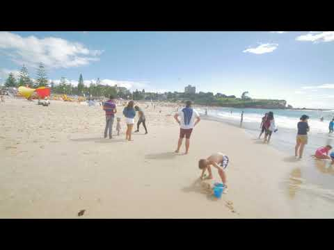 Sydney Video Walk 4K - Coastal Walk Coogee Beach Spring 2017