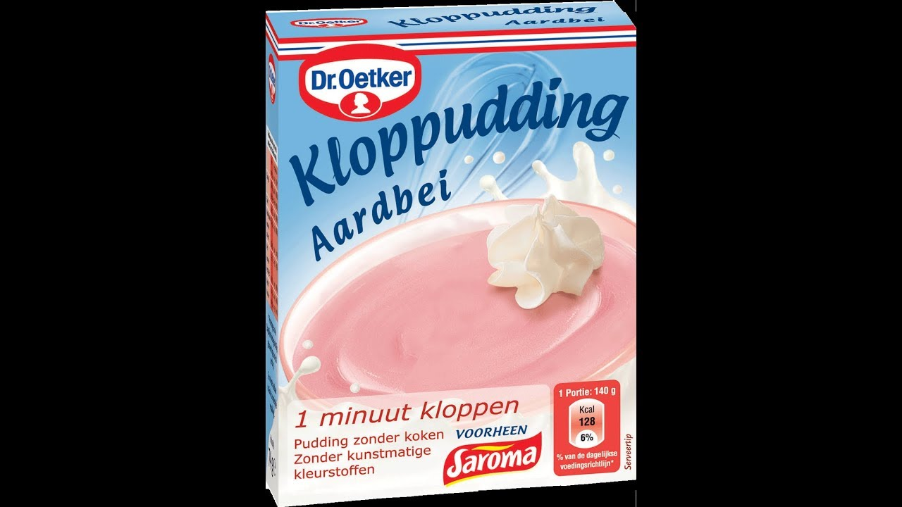 Dr Oetker Strawberry Pudding Simple And Easy 2017 Youtube