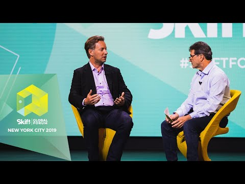 Airbnb Head Of Hotels And HotelTonight CEO At Skift Global Forum 2019