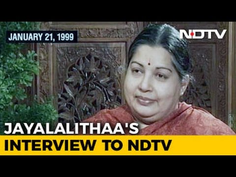 A Life Away From Madding World, Jayalalithaa's Dream Before The Turn of Century