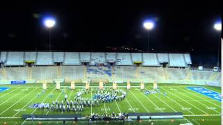"""Liberty """"Pride of the Lancers"""" Marching Band 2014"""