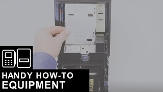 Loading Money Orders into a Certex Printer