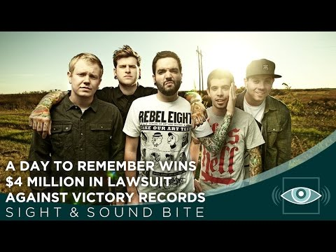 A Day to Remember Wins $4 Million In Lawsuit Against Victory Records - Sight & Sound Bite