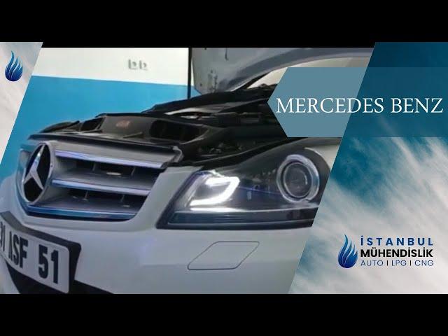 CGI MOTOR 1.8 MERCEDES BENZ İSTANBUL OTOGAZ DÖNÜŞÜM SİSTEMLERİ HATAY LPG