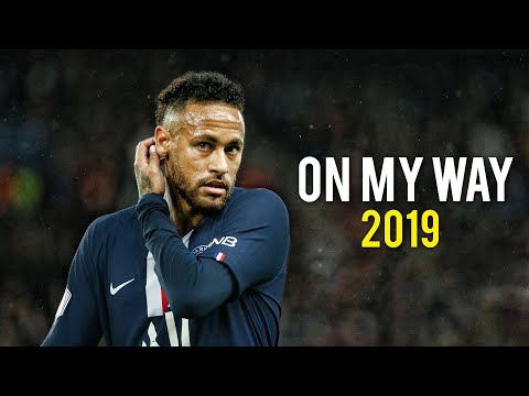 Neymar Jr | On My Way - Alan Walker | Skills & Goals | 2019 | HD