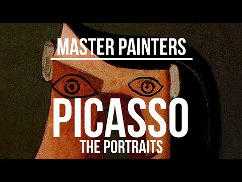 Pablo Picasso (1881-1973) - The Portraits - A collection of paintings 4K Ultra HD
