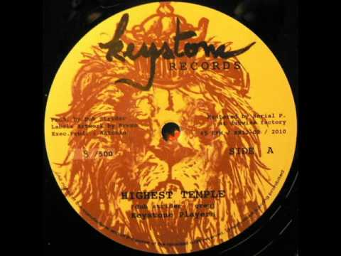 Dub Strider - Highest Temple + Flute Warriah - Keystone records 2010