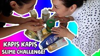 3 SANİYEDE KAPIŞ KAPIŞ SLİME CHALLENGE! 4 FARKLI SLİME TARİFİ! Bidünya Oyuncak