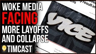 Woke Media Hit With MORE Layoffs, Gawker Relaunch CANCELED, Leftist Media Faces Collapse