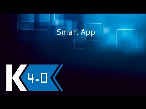 KOCH | K 4.0: Access directly to machine parameters – Smart App
