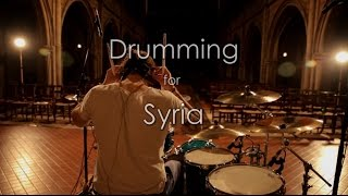 Drumming for Syria Part V - She's Out Of Her Mind (Blink 182)