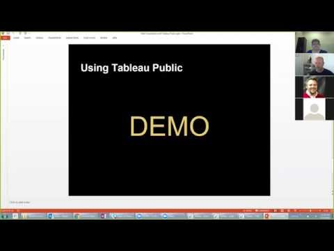 Next Generation Extension Webinar: Tableau Public