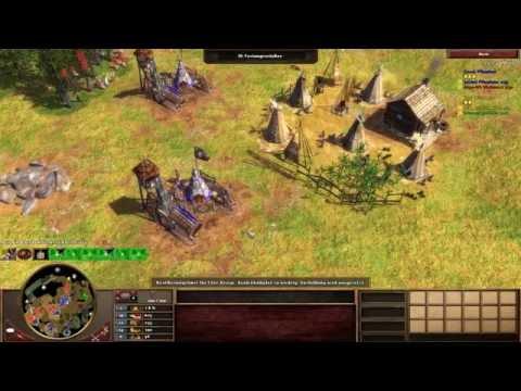 Age of Empires III - Indianer gegen Kolonialherren #2 - Multiplayer Gameplay Deutsch