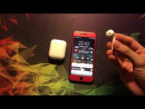 Hướng dẫn kết nối, cài đặt, sử dụng và điều khiển tai nghe blutooth Apple Airpod 2
