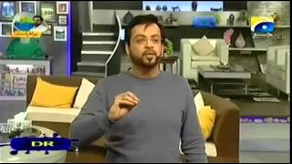 Geo TV: Pakistani Hate Preacher Aamir Liaquat threatens Ahmadiyya Muslims & compares them to Taliban