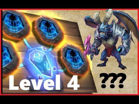 PSYSHIELD Level 4 Combining Vs STUN Target ARCHDEMON Castle Clash