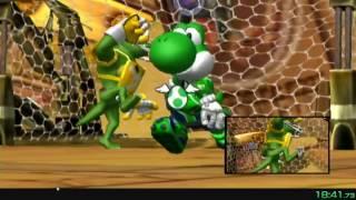 Mario Strikers Charged: Striker Challenges Speedrun in (40:49.16) [WR]