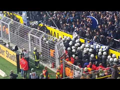 Hertha Fans Randale Schlägerei Gegen Polizei In Dortmund - Berlin 2:2