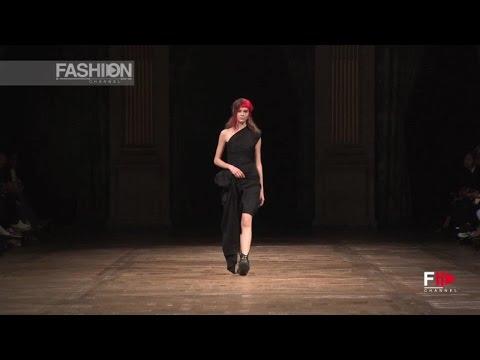 YOHJI YAMAMOTO Spring Summer 2016 Full Show Paris by Fashion Channel