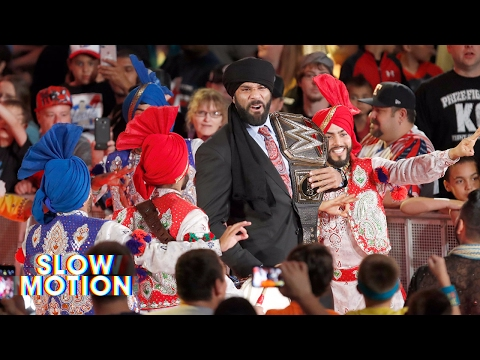 Thumbnail: Relive Jinder Mahal's Punjabi Celebration in slow-motion: Exclusive, May 24, 2017