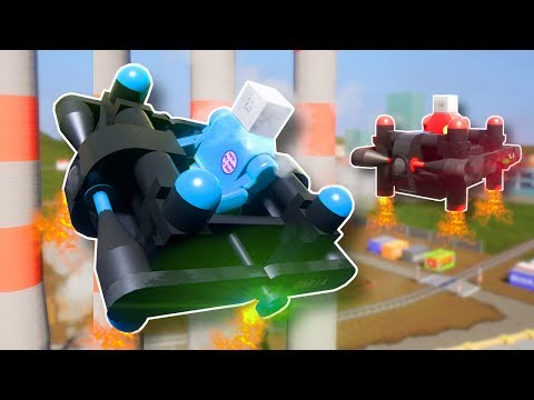 Explosion Filled STUNT Drone Race! – Brick Rigs Multiplayer Gameplay