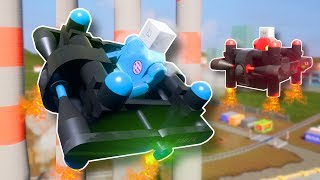 Explosion Filled STUNT Drone Race! - Brick Rigs Multiplayer Gameplay