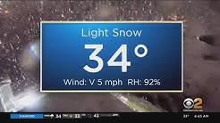 New York Weather: Snowy Start