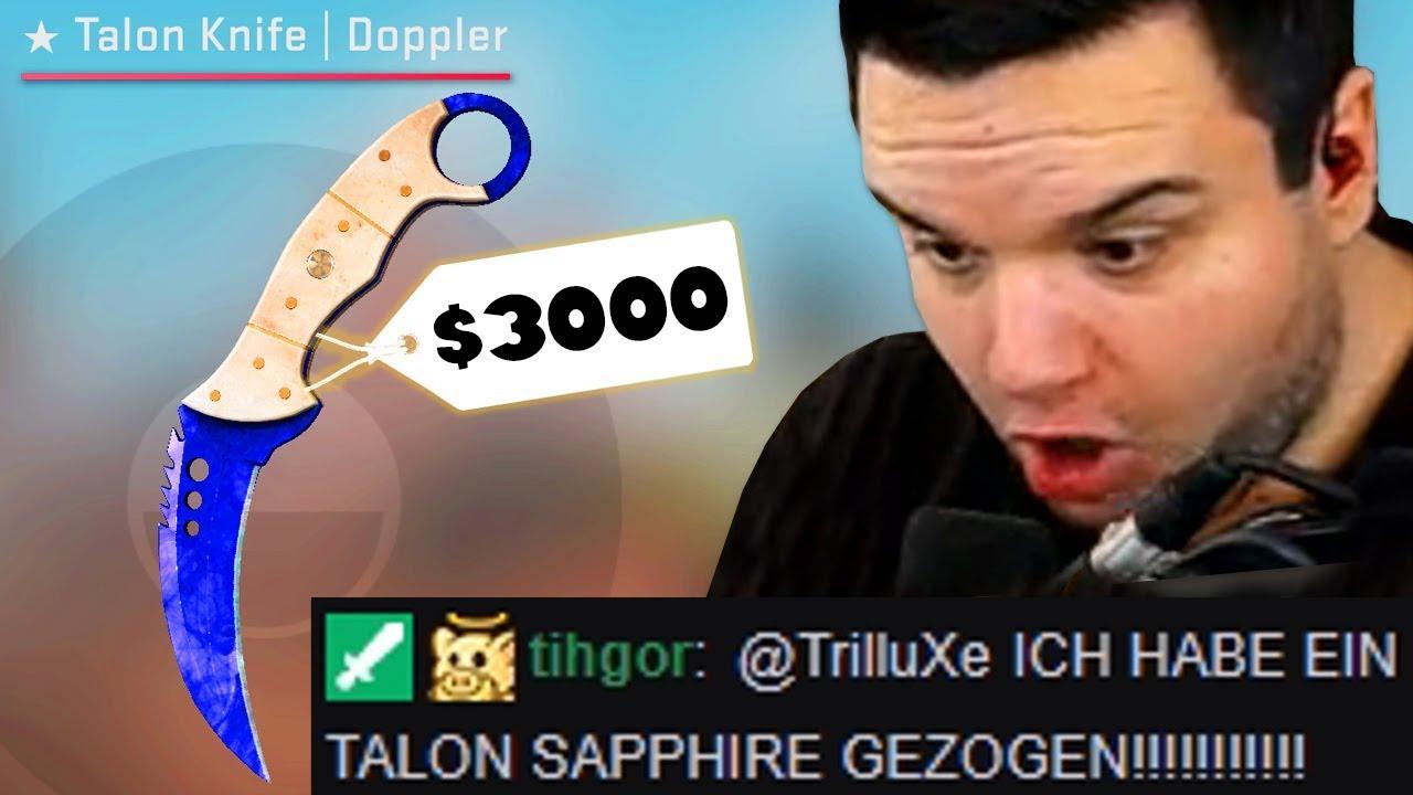 Download » TALON SAPPHIRE GEZOGEN?! « 😱 TrilluXe Community Case Opening Highlights