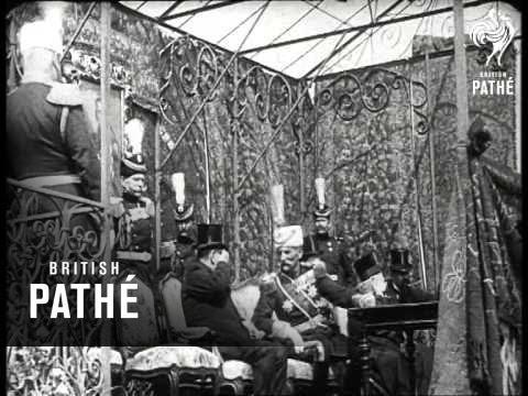 King Peter I Mobilisation Decree (1914)