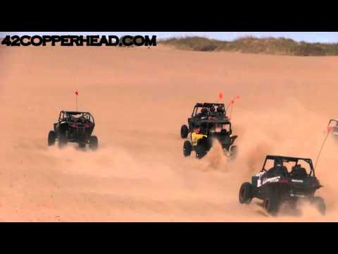 Yamaha YXZ 1000 VS XP 1000 SAND DRAG RACE