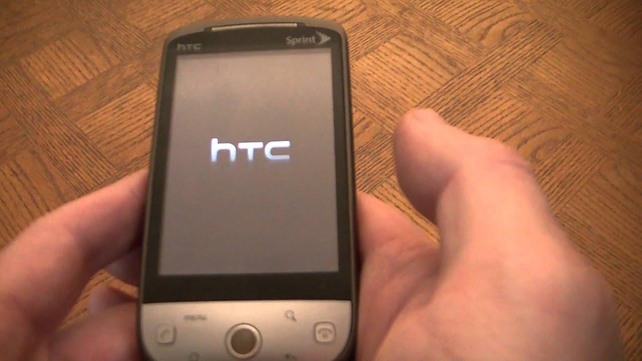 how to hard reset an htc hero android smart phone youtube rh youtube com HTC Hero 200 Sim Card HTC Hero 200 Software