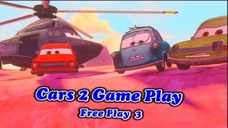 Cars 2 Game Play - Raoul CaRoule Free Play 03
